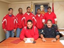 Oficina Estadal de la Juventud y Bomberos de Anzoátegui firman convenio de capacitación