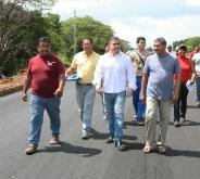 Ejecutivo regional ejecuta mejoras en la vía Troncal 11