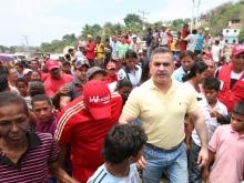 Tarek realizó masivo operativo médico social y alimentario en Molorca