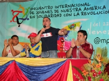 Tarek instaló Encuentro Internacional de Jóvenes de América Latina