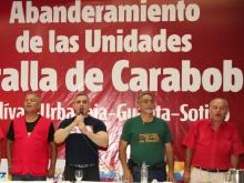 Tarek abanderó Comandos Chavistas