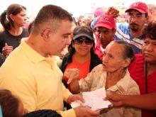 Tarek benefició a más de 8 mil barceloneses en gran operativo social en Las Casitas