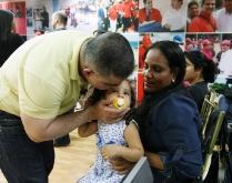 Tarek realizó V Entrega Masiva de Ayudas Sociales del año 2012