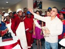 """Tarek inauguró Matadero Industrial """"Ezequiel Zamora"""""""