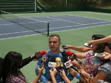 Gobernador Tarek entregó remodelación de Cancha de Tenis