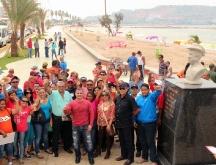 Tarek inauguró Bulevar Eneas Perdomo en Playa Lido