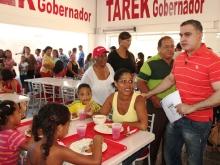 Gobernador Tarek inauguró Comedor Popular en Los Tronconales
