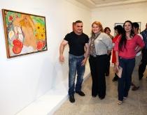 "Gobernador Tarek inauguró exposición ""De Sur a Norte"" en la Galería Pedro Báez"