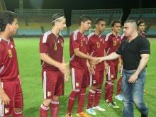 Tarek dio inicio a Triangular Internacional de Futbol categoría Sub 20