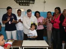 Ejecutivo regional profundiza rehabilitación del Centro de Educación Inicial en Chuparín
