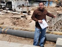 Gobernación continúa construcción de sistema de tratamiento de agua potable en Cajigal