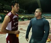 Tarek acompañó a la Vinotinto en entrenamientos de cara a próximos juegos