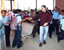 Gobernación de Anzoátegui realiza mejoras en Escuela Oficial en Aragua de Barcelona