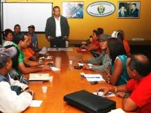 Gobernación y Frente de Trabajadores Socialistas impulsan nueva clase sindical
