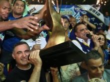 Gobernador Tarek felicitó a Marinos de Anzoátegui