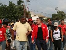 Gobernación ejecuta trabajos de urbanismo en municipio Sotillo