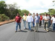 Gobernación afianza rehabilitación en vías agrícolas del municipio Freites