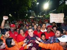 """Anzoátegui celebró """"Amanecer de Patria"""" en arranque de campaña electoral a favor de Chávez"""