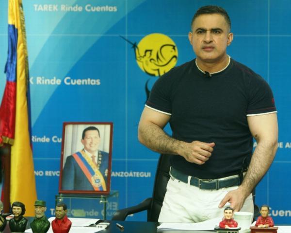 Gobernador Tarek calificó como exitosa gran concentración en apoyo a Chávez