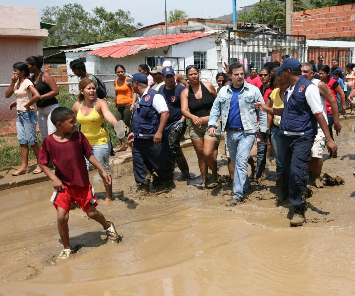 Gobernación  atendió a familias afectadas por lluvias en El Esfuerzo
