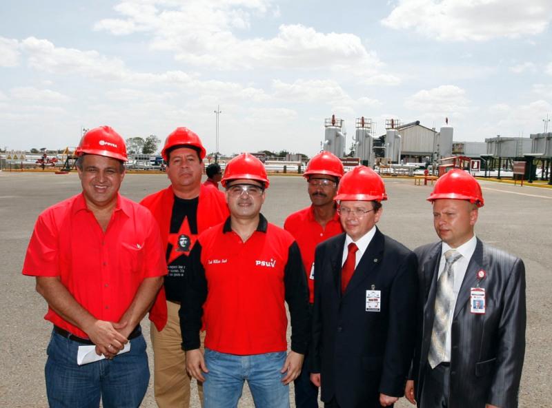 Gobiernos de Venezuela y Bielorrusia transfieren campos petroleros a Empresa Mixta del área Soto