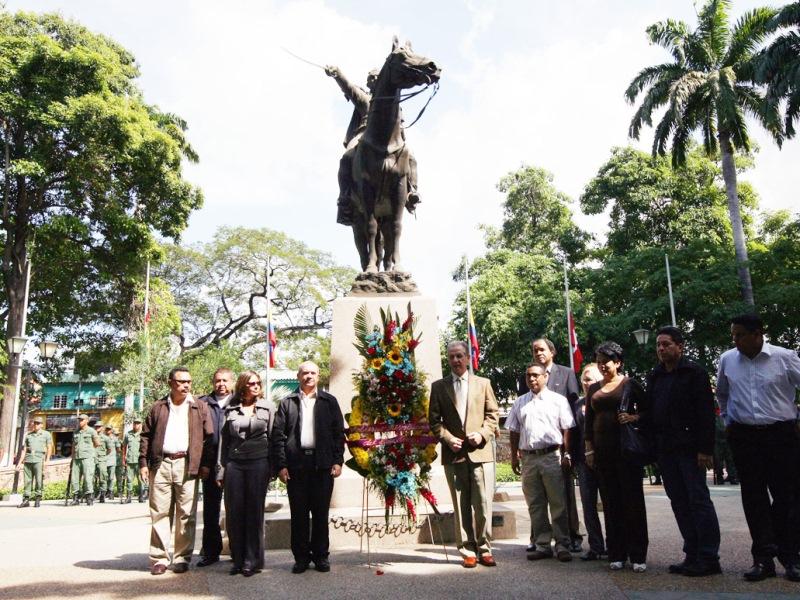 Anzoátegui conmemoró 180 años de la muerte de El Libertador