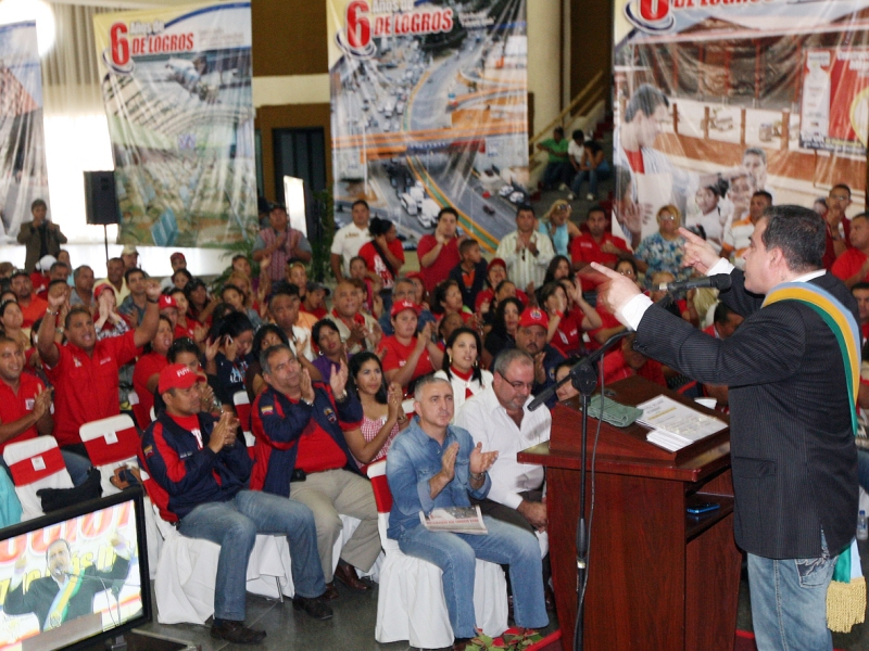 Tarek celebró con el pueblo 6 años de logros y victorias revolucionarias
