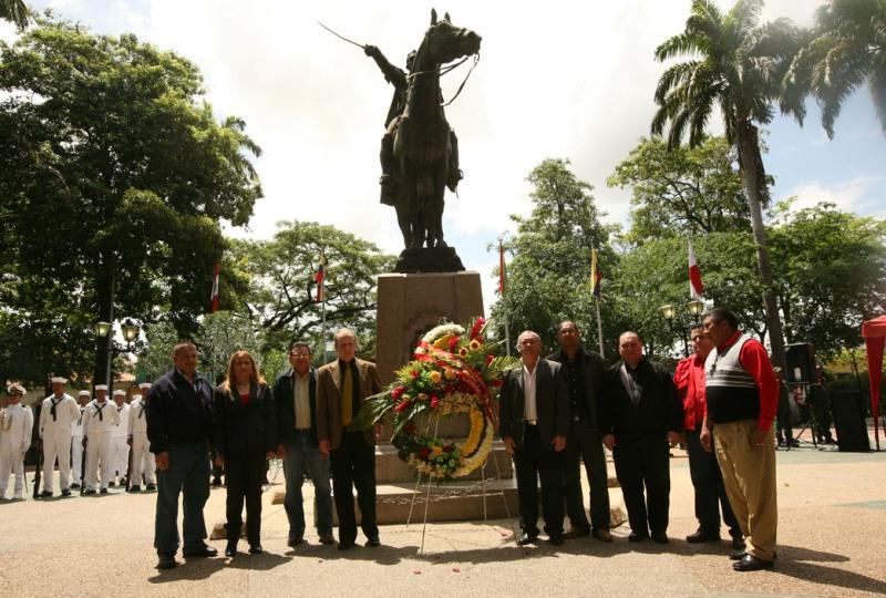 La Batalla de Carabobo se registró el 24 de junio de 1821, y fue la