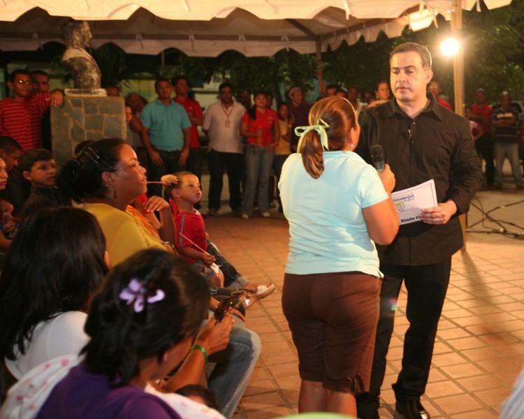 Gobernación construirá Liceo Bolivariano en terrenos de Escuela Cacique Paisana