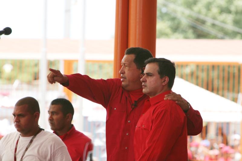 Presidente Chávez lidera Gran Marcha en los Tronconales