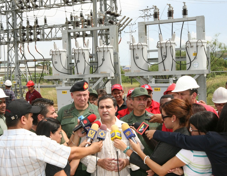 Jefe de la G.N.B. ratifico denuncias de sabotajes eléctricos en Anzoátegui