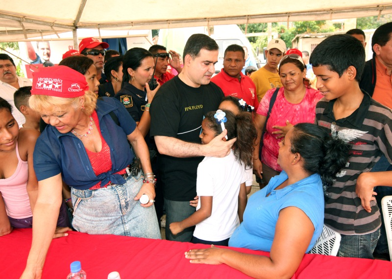 Habitantes de El Tigre se beneficiaron con operativo alimentario