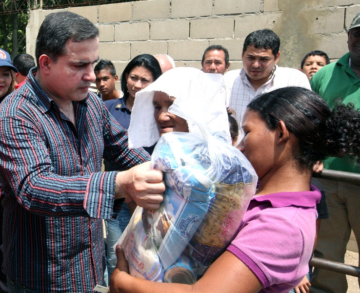 Gobernación y  Pdval beneficiará a miles de personas  en operativo alimentario