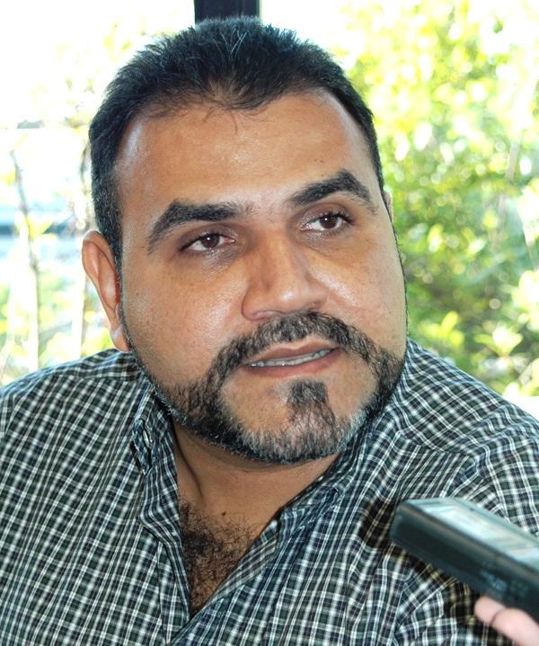 El presidente de la Corporación de Vialidad e Infraestructura del estado Anzoátegui, Isidro Acosta