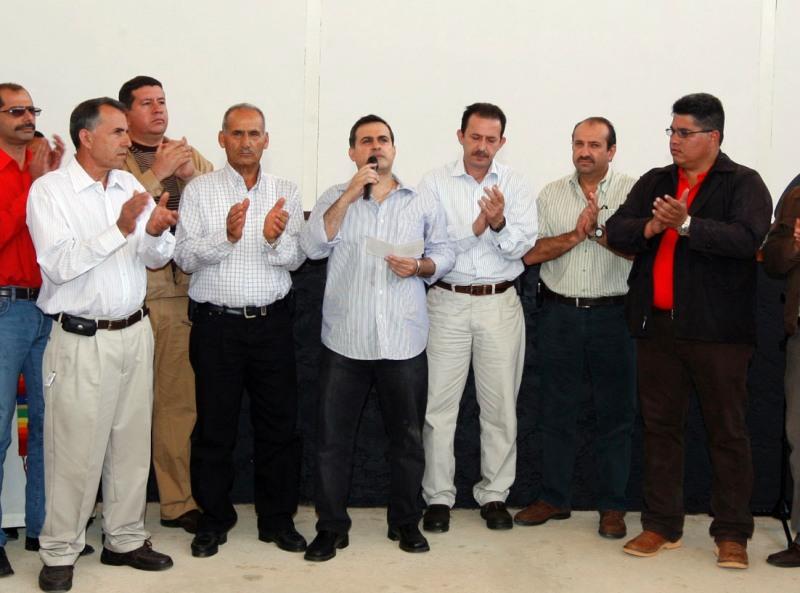 Tarek entrega aporte especial paraSaneamiento de la ciudad de El Tigre