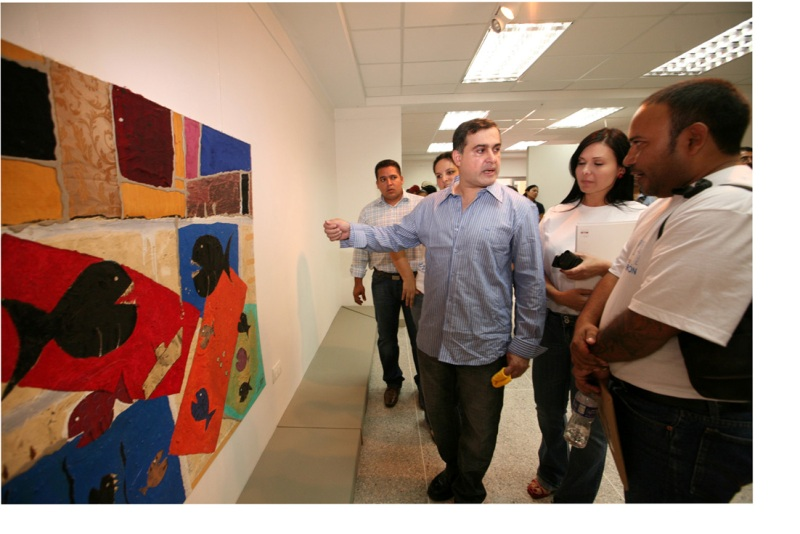 "Entregado a Luís Méndez ""premio regional de las artes Eduardo Sifontes"""