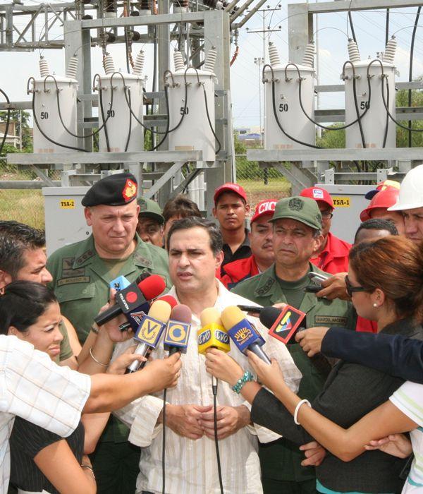 Tarek  anunció pronta puesta en funcionamiento del transformador en Sub Estación de Barbacoa