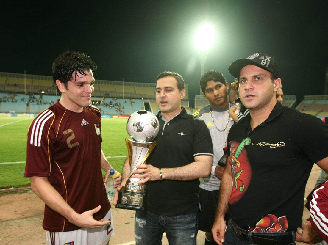 Tarek consolida respaldo al fútbol de Venezuela