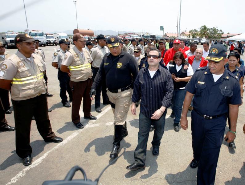 Tarek arrancó Operativo de Seguridad Semana Santa 2010