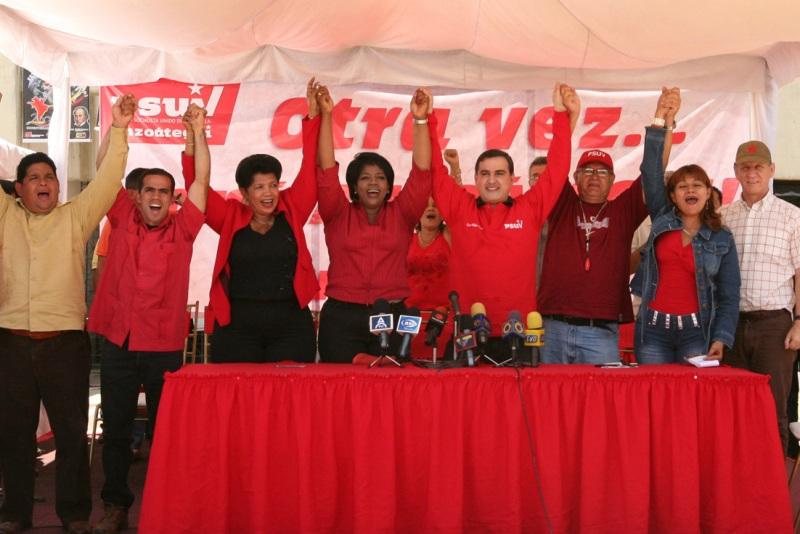 PSUV Anzoátegui renovó diputados