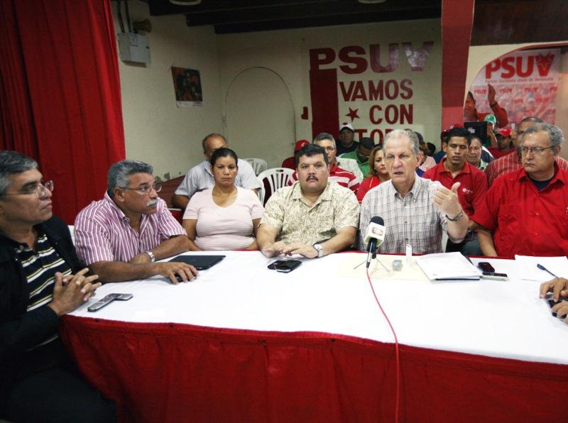 PSUV Anzoátegui respalda política nacional de ayuda a damnificados