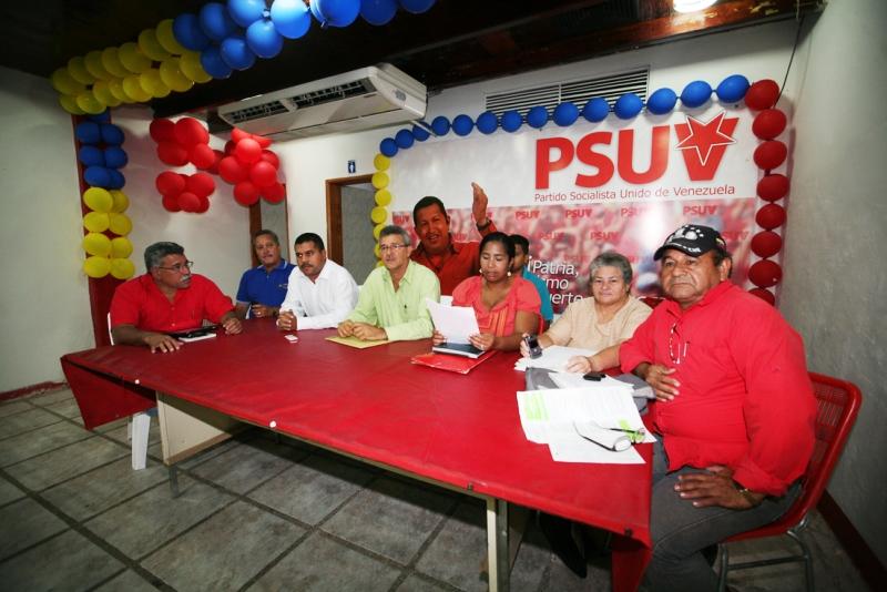 Psuv Anzoátegui apoya decisión de la AN de otorgar Ley Habilitante al Presidente Chávez