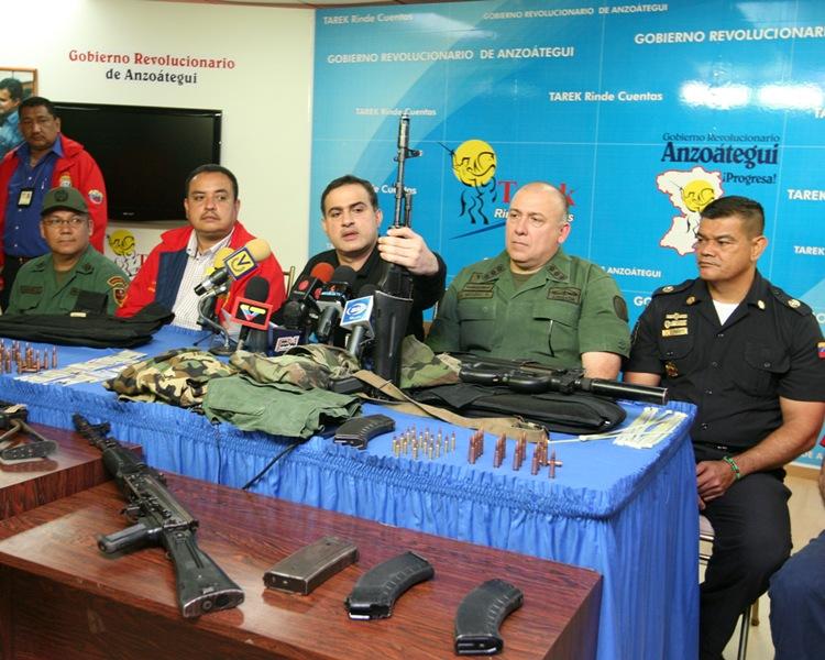 CICPC y Policía de Anzoátegui desmantelaron banda Los Sanguinarios en El Tigre