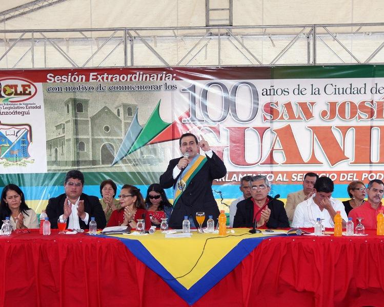 Tarek decreto a San José de Guanipa capital de Anzoátegui por un día