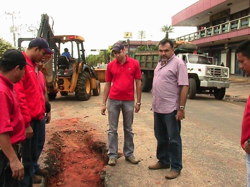 Gobernación realizó inspección en drenajes de Guanipa