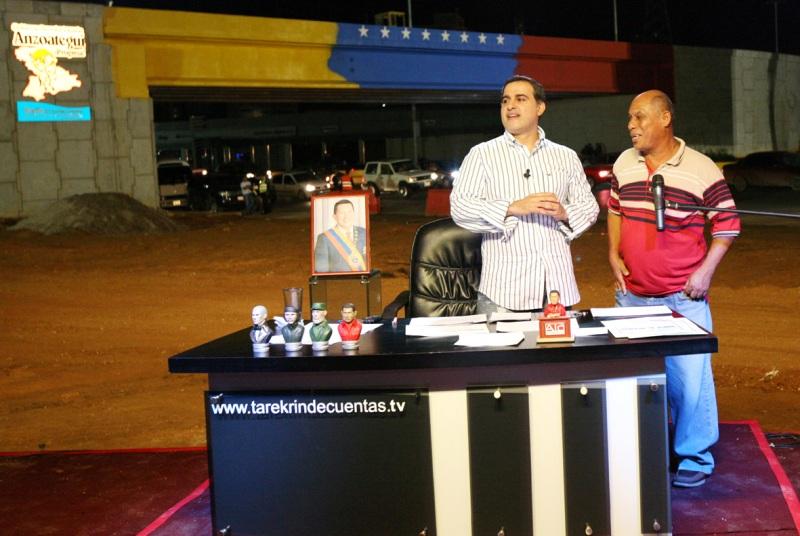 Tarek Rinde Cuentas arribó a su quinto aniversario con el programa No.253