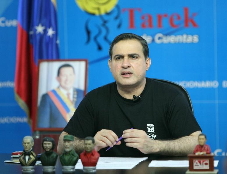 Tarek entregó donativos por Bs.F. 39 mil 700  durante su programa semanal