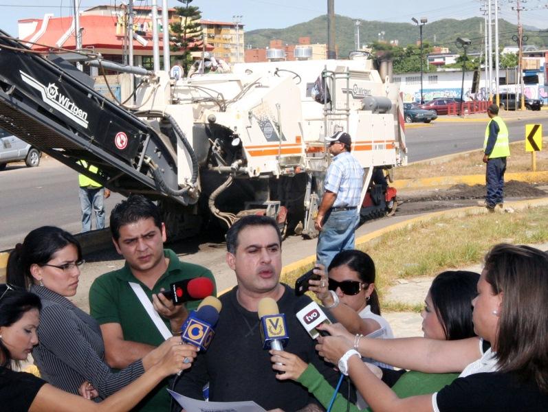 Tarek consolida rehabilitación de la Avenida Jorge Rodríguez