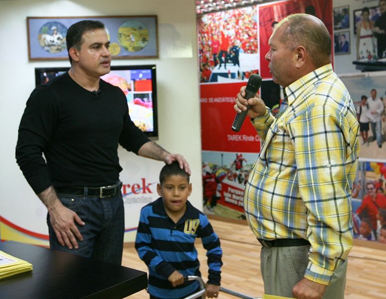 Tarek realizó sexta entrega masiva de ayudas sociales del año 2011