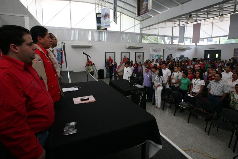 Juramentado Frente Socialista en defensa del Complejo Hospitalario Luis Razetti